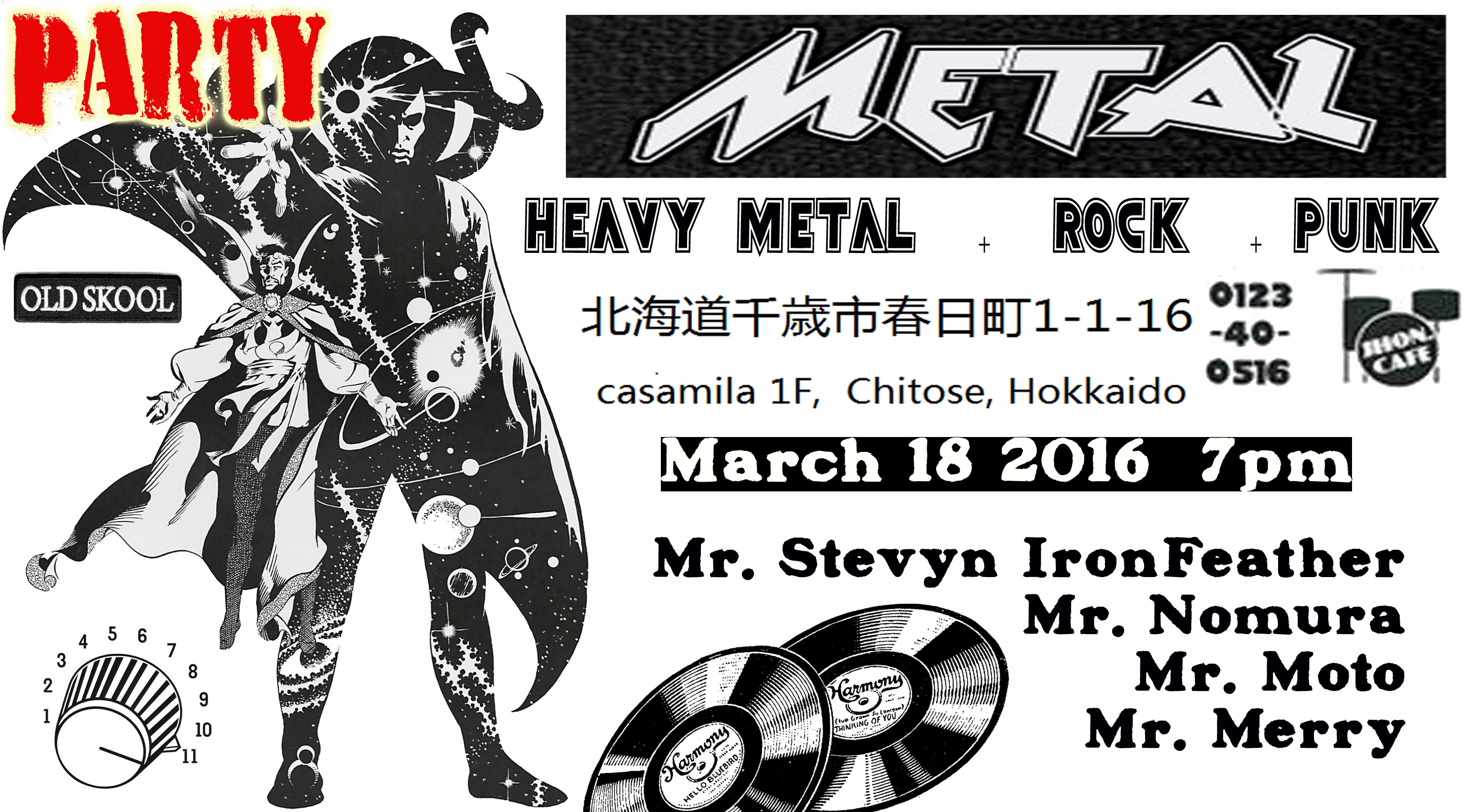 hokkaido metal rock music party