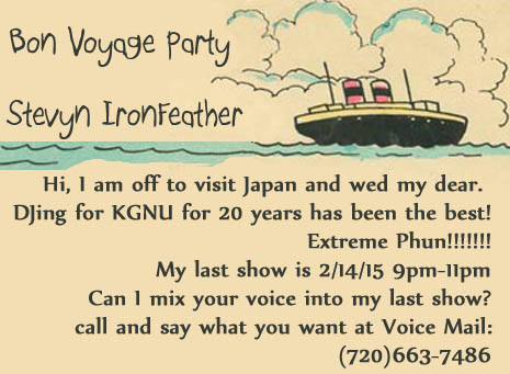 stevyn ironfeathers bon voyage party